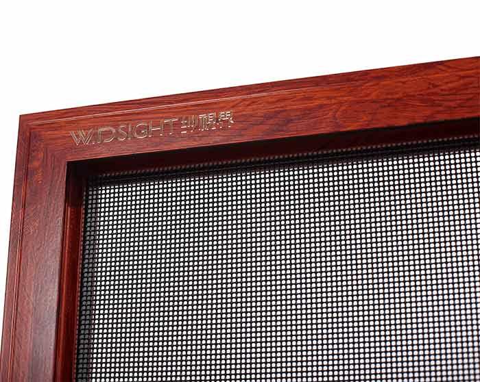 SSJ-0006 Anti-theft single hung screen window
