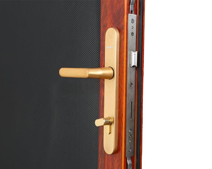 SSJ-0009 Hinged security screen door