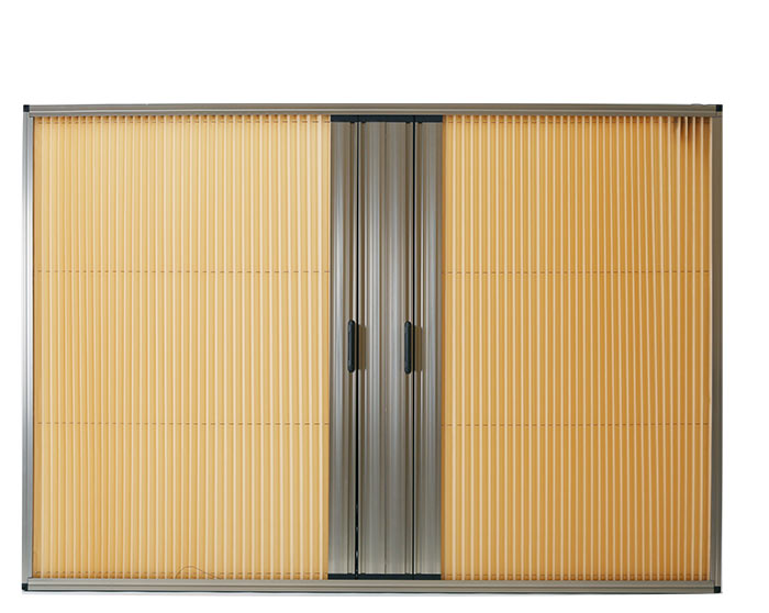 SSJ-0013 Trackless folding screen door
