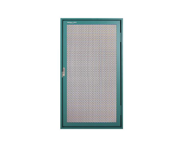 SSJ-0001 Exterior installed inner open screen window